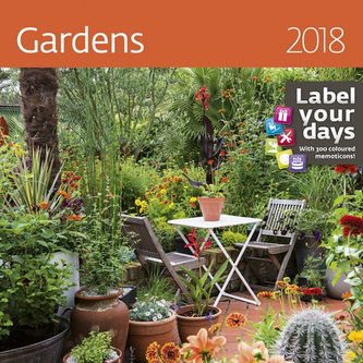 Kalendář nástěnný 2018 - Gardens 300x300