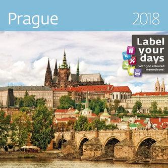 Kalendář nástěnný 2018 - Prague 300x300