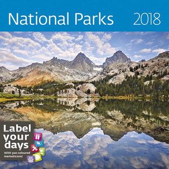 Kalendář nástěnný 2018 - National Parks 300x300