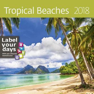 Kalendář nástěnný 2018 - Tropical Beaches