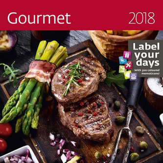Kalendář nástěnný 2018 - Gourmet