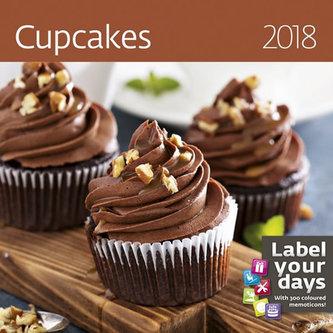 Kalendář nástěnný 2018 - Cupcakes