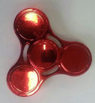 Extreme Spinner metalická červená