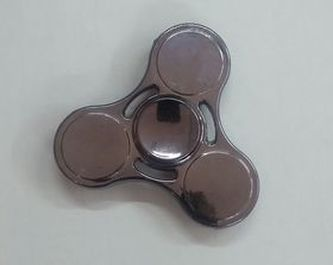 Extreme Spinner metalická stříbrná