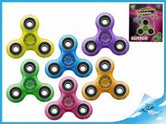Extreme Spinner fialový se třpytkami