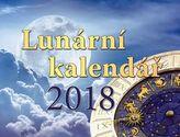 Lunární kalendář - stolní kalendář 2018