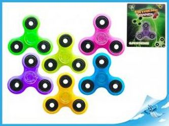 Extreme Spinner fialový - svítící ve tmě