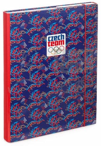 Desky na školní sešity A4 - Český olympijský tým - neuveden