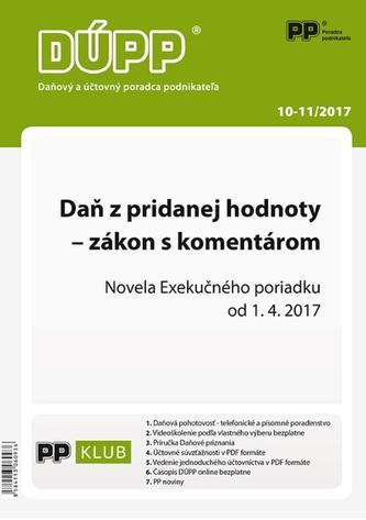 DUPP 10-11/2017 Daň z pridanej hodnoty - zákon s komentárom