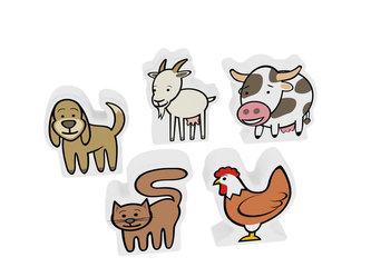 Moje první zvířátka - domácí/kráva - neuveden