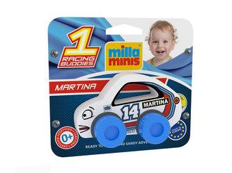 Závodní auto RACING BUDDIES - Martina 14/bílé