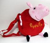 Plyšová kabelka ve tvaru Prasátka Peppy - červená