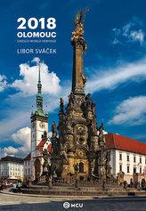 Kalendář nástěnný 2018 - Olomouc/střední formát
