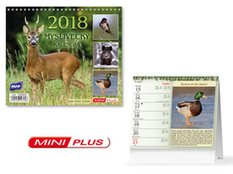 Myslivecký mini 2018 - stolní kalendář