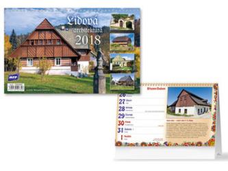 Lidová architektura 2018 - stolní kalendář