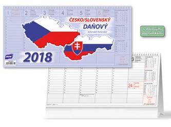 Česko/slovenský 2018 - stolní kalendář