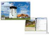 Toulky naší krajinou 2018 - stolní kalendář