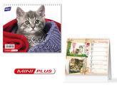 Kočky mini 2018 - stolní kalendář