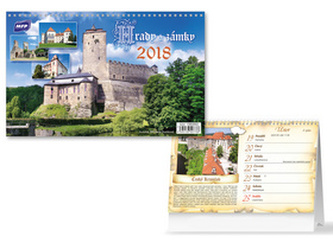 Hrady a zámky 2018 - stolní kalendář