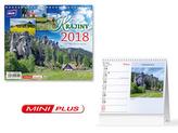 Krajiny mini 2018 - stolní kalendář