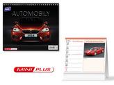 Automobily mini 2018 - stolní kalendář