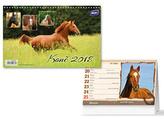 Koně 2018 - stolní kalendář