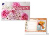 Květiny 2018 - stolní kalendář