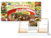 Hrnkové recepty  2018 - stolní kalendář
