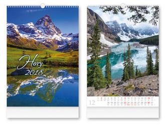 Hory 2018 - nástěnný kalendář