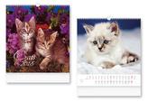 Cats 2018 - nástěnný kalendář