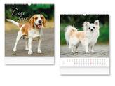 Dogs 2018 - nástěnný kalendář