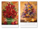 Flowers 2018 - nástěnný kalendář