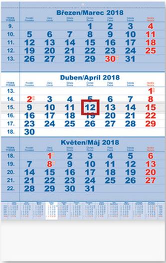 Tříměsíční 2018 - nástěnný kalendář