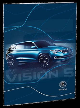 Školní desky na abecedu - Škoda Vision - neuveden