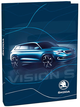 Box na sešity A4 - Škoda Vision - neuveden