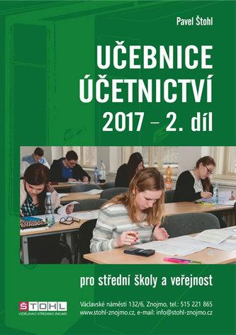 Učebnice Účetnictví II. díl 2017 - Pavel Štohl