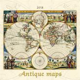 Antique maps 2018 - nástěnný kalendář