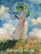 Impressionists 2018 - nástěnný kalendář