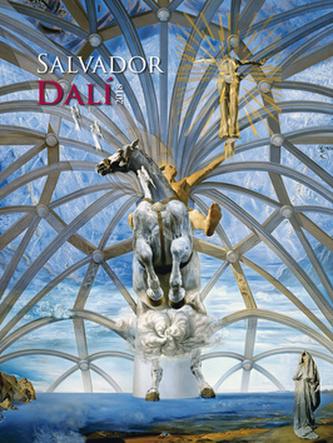Salvador Dalí 2018 - nástěnný kalendář