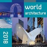 World architecture 2018 - nástěnný kalendář