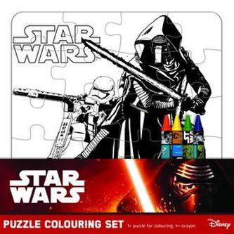 Star Wars omalovánkové puzzle