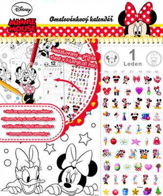 Stolní kalendář Minnie