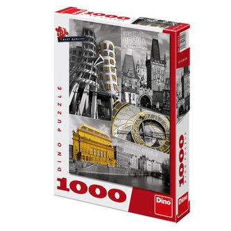 Dino - Praha - puzzle 1000 dílků