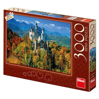 Neuschwanstein na podzim - puzzle 3000 dílků - neuveden