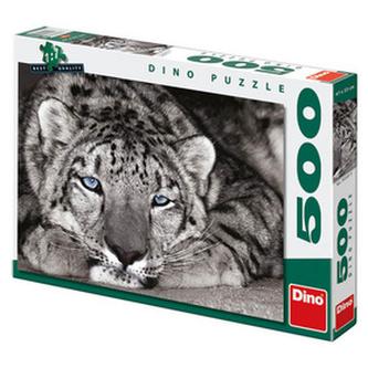 Modrooký tygr - puzzle 500 dílků - neuveden