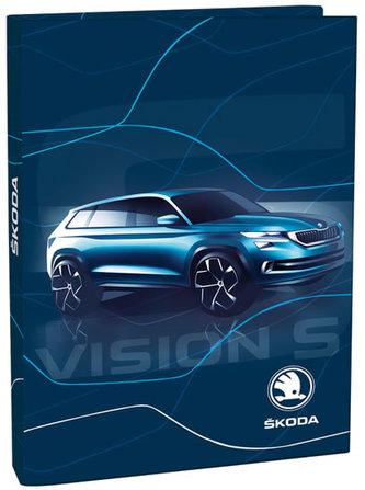 Box na sešity A5 - Škoda Vision - neuveden
