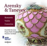 Arensky & Taneyev: Romantic Violin Concertos - CD