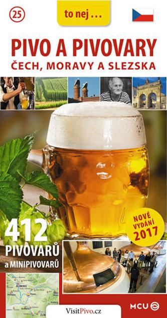 Pivo a pivovary Čech, Moravy a Slezska - kapesní průvodce/česky - Eliášek Jan