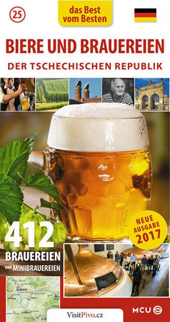 Pivo a pivovary Čech, Moravy a Slezska - kapesní průvodce/německy - Eliášek Jan