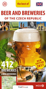 Pivo a pivovary Čech, Moravy a Slezska - kapesní průvodce/anglicky